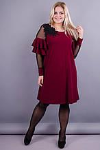 Платье Юнона бордо