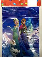 """Пакеты подарочные, сумочки полиэтиленовые детские для подарков """"Холодное сердце"""""""