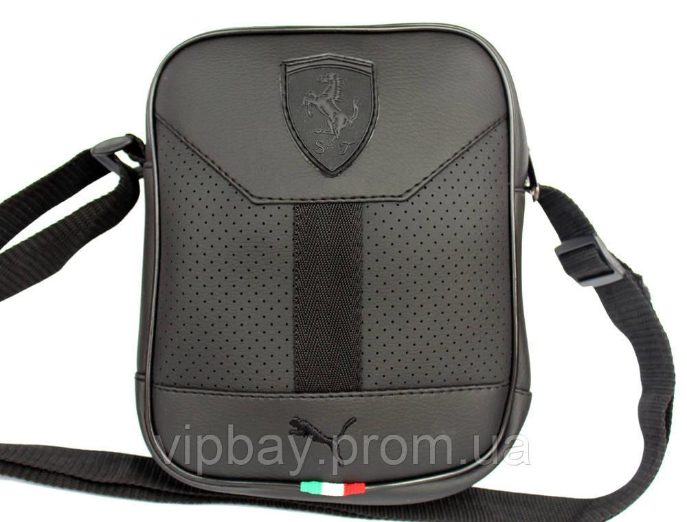 Мужская спортивна сумка через плечо в стиле Puma (3014)