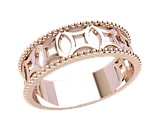 Кольцо  женское серебряное Эльза 21247, фото 2