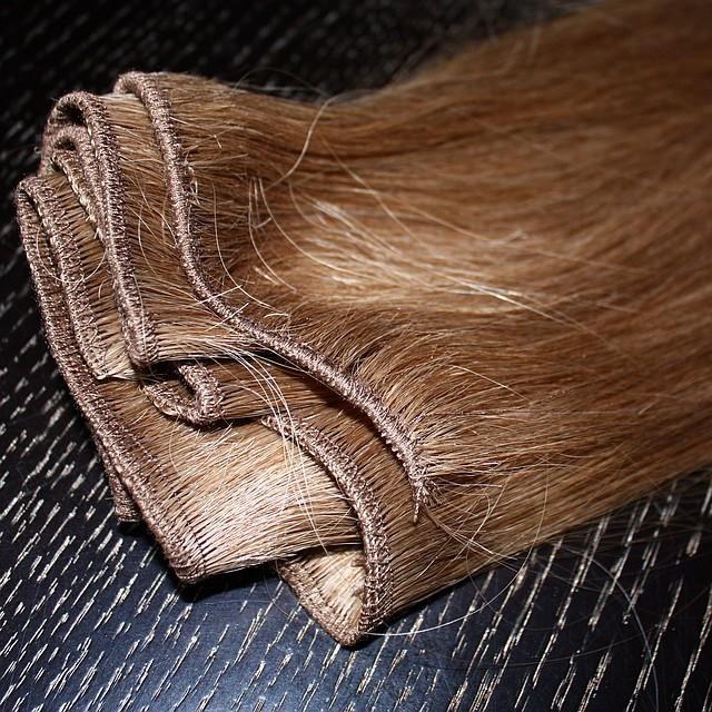 Натуральные славянские волосы на трессе длиной 55 см, фото 1