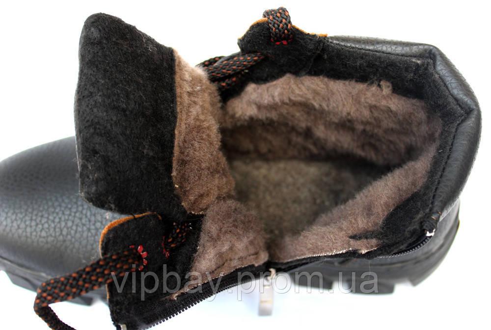 ... Чоловічі черевики зимові на хутрі в стилі Timberland (СГБ-15ч) 5 ... 0fee16d99826e