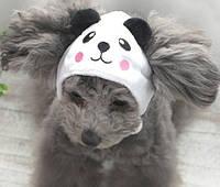 Шапка для собак «Панда», размер S