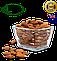 Мигдаль Каліфорнійський смажений (Австралія) вага: 500гр, фото 2