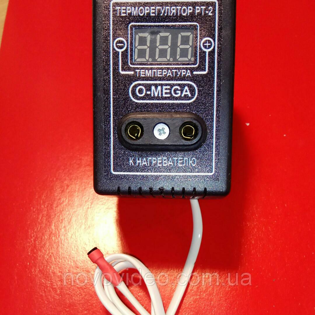Терморегулятор цифровой ТР-2 Омега для ламп накаливания в инкубатор