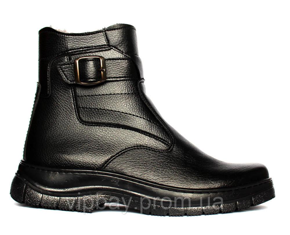 Мужские зимние ботинки на меху классические ЮК-7