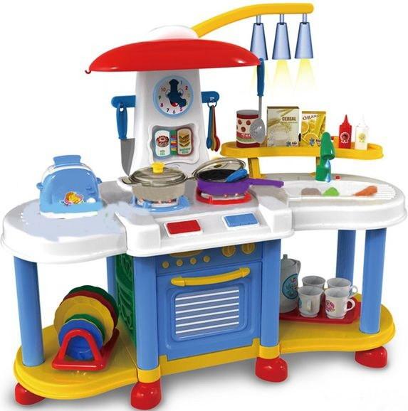 Игровой набор Bambi ZB 6006 A Кухня, идет вода, 30 предметов