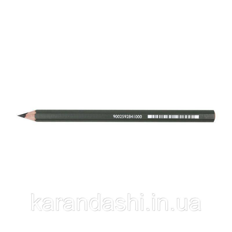 Карандаш графитный MegaGraphit, с увеличенным стержнем 5.5 мм, 6B, Cretacolor