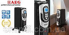 Масляный радиатор  7 секций  AEG (Оригинал)Германия до 28кв.м