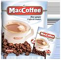 ''MacCoffee'' 2 в 1 Без Сахара 10шт