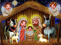 Схема для вышивки бисером Сказочное рождество КМР 3183