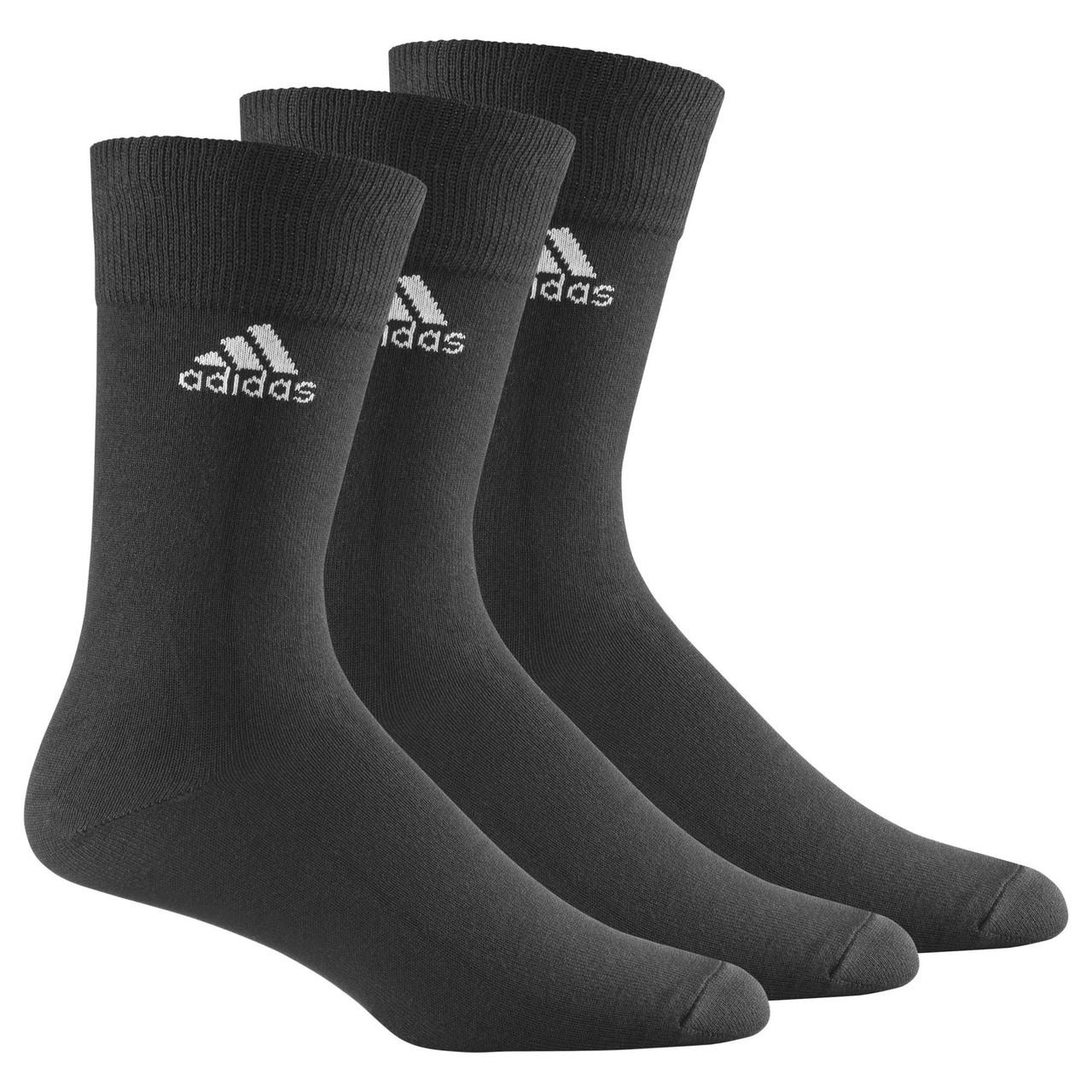 Носки Adidas CREW PLAIN THIN 3P (АРТИКУЛ: Z25574)