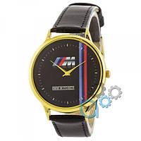 Наручные часы Часы BMW M Power c Gold-Black