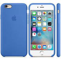 Силиконовый чехол Apple Silicone Case IPHONE 6/6s (Azure), фото 1