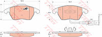 Тормозные колодки VW GOLF IV; PLUS; V; VI (TRW)