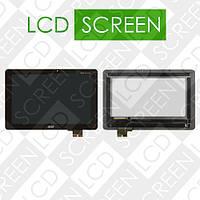Модуль для планшета Acer Iconia Tab A700, A701, черный, дисплей + тачскрин