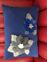 Подушка из  кашемира и норки, фото 1