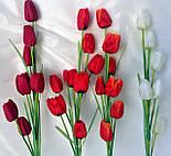 Искусственный тюльпан ветка, 8 головок , фото 3