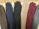 (50cm)Длинные вязание шерсти трикотаж  женские перчатки только оптом, фото 4