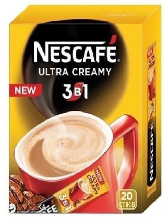 """Кофе """"Nescafe"""" 3 в 1 Cream 20шт, фото 2"""