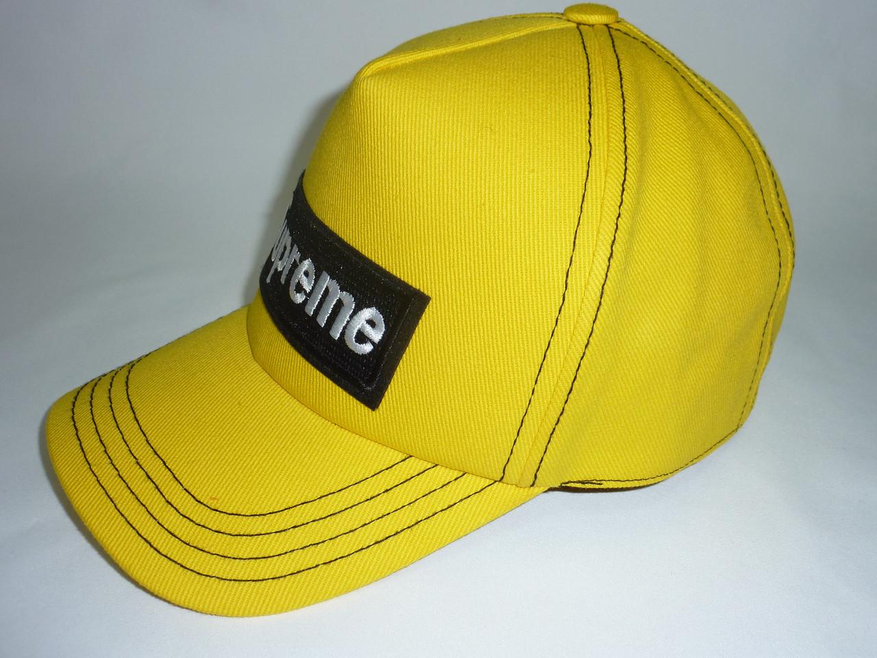 Кепка желтая