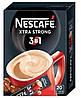 """Кофе """"Nescafe"""" 3 в 1 Xtra Strong 20шт"""