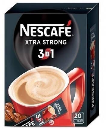 """Кофе """"Nescafe"""" 3 в 1 Xtra Strong 20шт, фото 2"""
