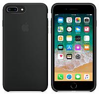 Чехол для iPhone 7 Plus /8 Plus Silicone Case бампер (Black)