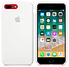 Силиконовый чехол Apple Silicone Case IPHONE 7Plus/8 Plus (White)