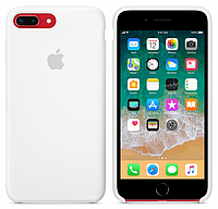 Силиконовый чехол Apple Silicone Case IPHONE 7Plus/8 Plus (White), фото 1
