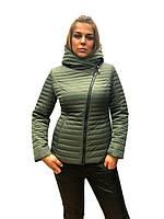 Женская демисезонная куртка-косуха Lusskiri M, L, XL, 2XL, 3XL, 4XL, осень весна, фото 1