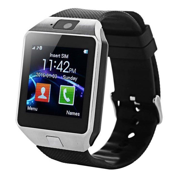 Смарт-часы (Smart Watch) Умные часы DZ09 silver