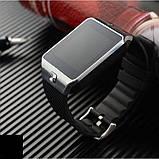Смарт-годинник (Smart Watch) Розумні годинник DZ09 silver, фото 4