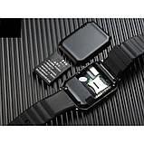 Смарт-часы (Smart Watch) Умные часы DZ09 silver, фото 5