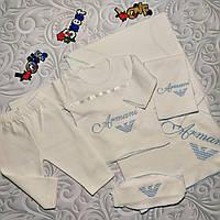Набор Armani для новорожденного,подарочный, 5 предметов., фото 1