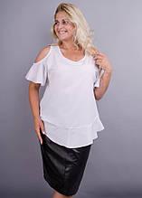 Блузка Меринда белый
