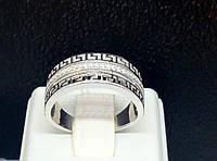 Серебряное кольцо с фианитами. Артикул К2Ф/461 17,4, фото 1