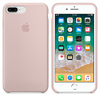 Силиконовый чехол Apple Silicone Case IPHONE 7Plus/8 Plus (Pink sand) + Стекло !!!