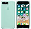 Силиконовый чехол Apple Silicone Case IPHONE 7Plus / 8Plus (Sea Blue)