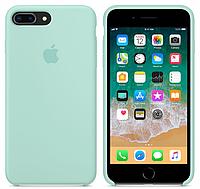 Силиконовый чехол Apple Silicone Case IPHONE 7Plus / 8Plus (Sea Blue), фото 1