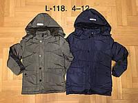 Куртки зимние на мальчиков оптом, F&D, 4-12 рр