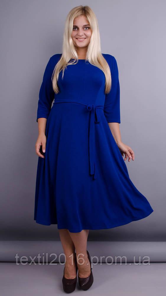 Платье Кора электрик