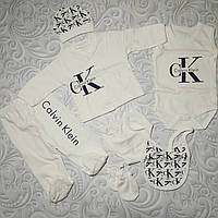 Подарочный набор для новорожденного Calvin Klein ,7 предметов.