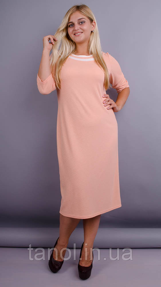Платье Вивиан персик