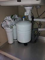 Установка систем очистки воды и водоподготовки.