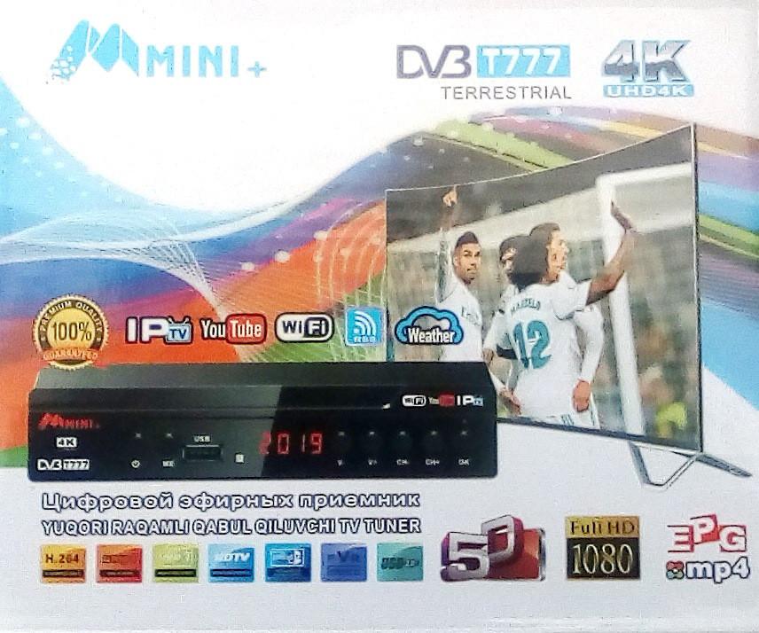 цифровой эфирный тюнер T2 Mini Iptv Youtube Wifi 4k цена