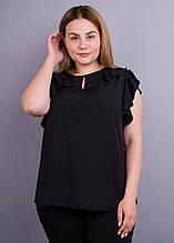 Блузка женская черная Руна