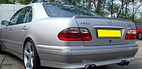 Лип-Спойлер кромки багажника (Сабля) для Mercedes E W210 ABS