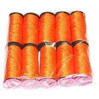 Нить обувная капроновая 375 текс (оранжевый), фото 1