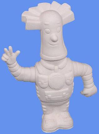 Гипсовые фигурки для раскрашивания ПАПУС \ ПС-144СК с красками и кисточкой, фото 2